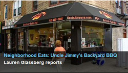 Uncle Jimmy's BBQ on Ch 7 News